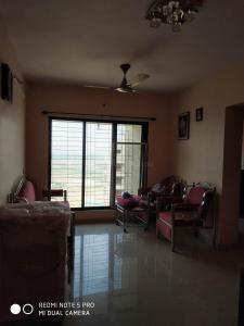 Gallery Cover Image of 640 Sq.ft 1 BHK Apartment for rent in Maison Tarangan, Kasarvadavali, Thane West for 13000