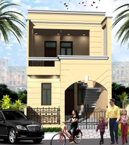 Gallery Cover Image of 1240 Sq.ft 3 BHK Independent House for buy in Chinhat Tiraha for 3007000