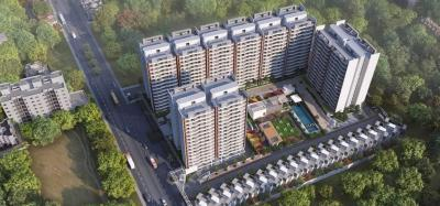 Gallery Cover Image of 1025 Sq.ft 2 BHK Apartment for buy in Dhanori for 4700000