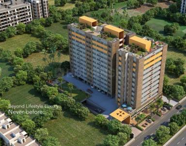 Gallery Cover Image of 1215 Sq.ft 2 BHK Apartment for buy in Umiya Shayona Arise, Nava Naroda for 3331000