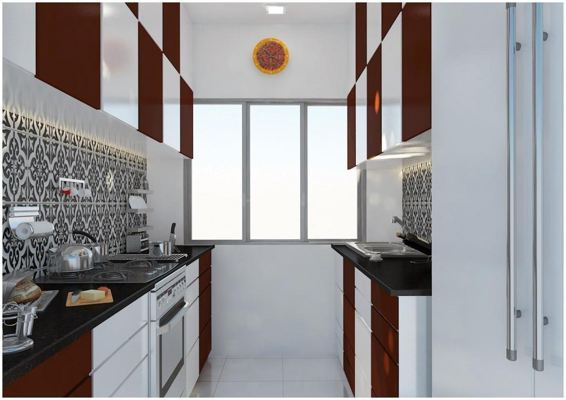 Kitchen Image of 724 Sq.ft 1 BHK Apartment for buy in Lower Parel for 20800000