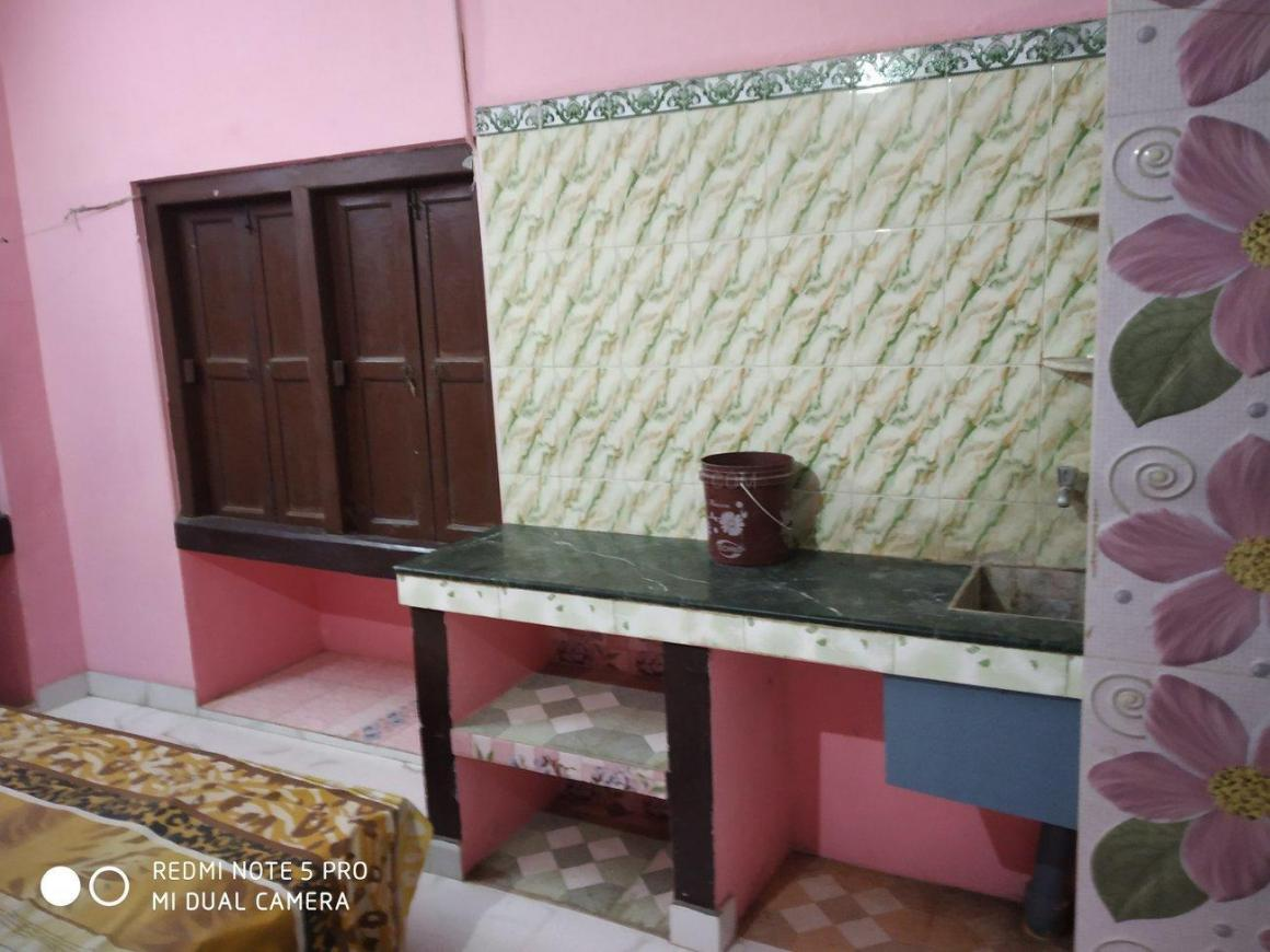 Kitchen Image of 259 Sq.ft 1 RK Independent House for rent in New Town for 5000