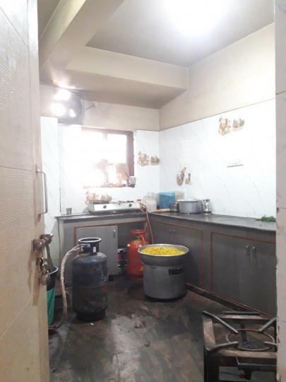 मराठाहल्लि में नेहा लक्ज़री पीजी में किचन की तस्वीर