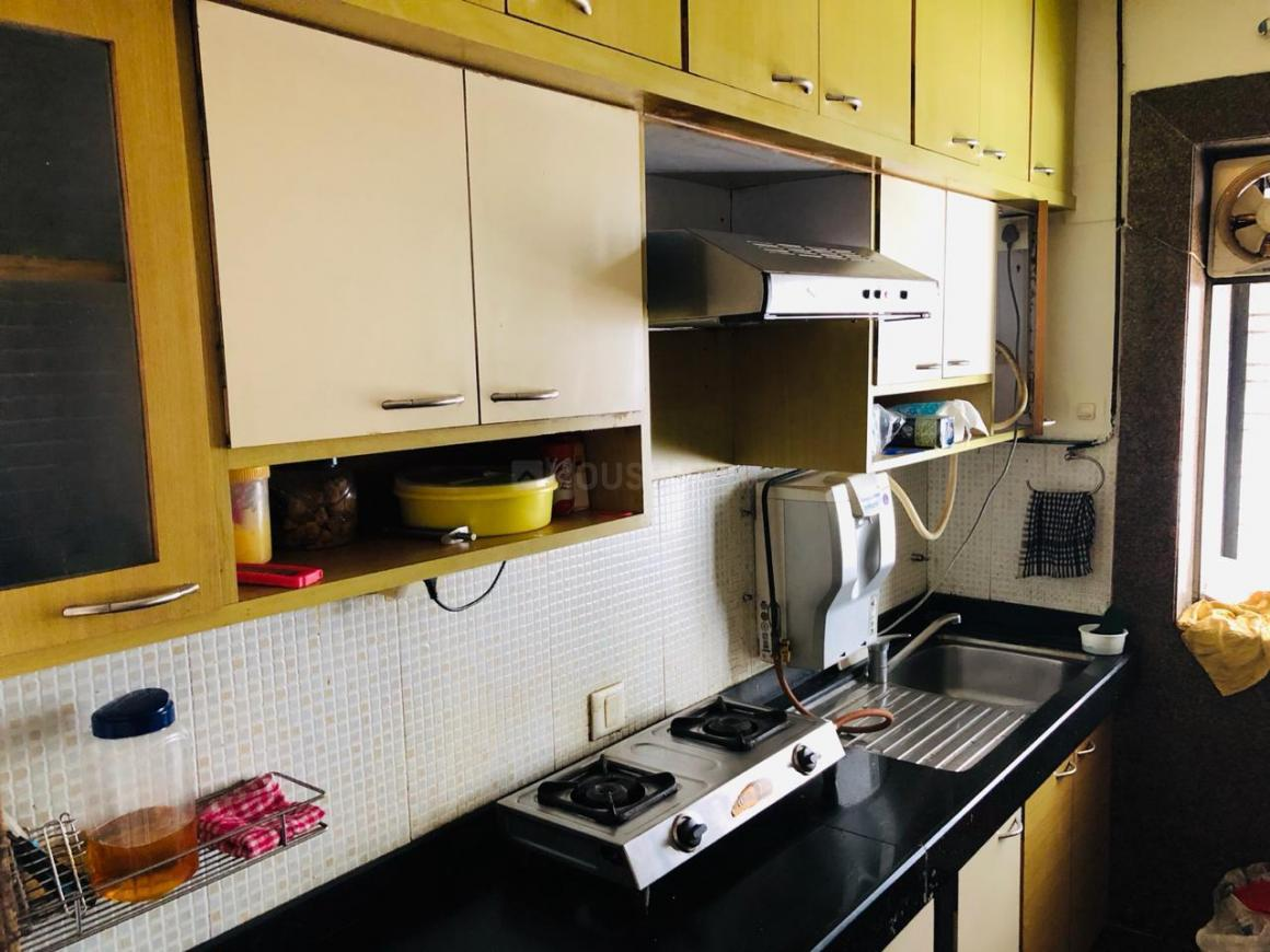 Kitchen Image of 1250 Sq.ft 3 BHK Apartment for rent in Andheri West for 60000
