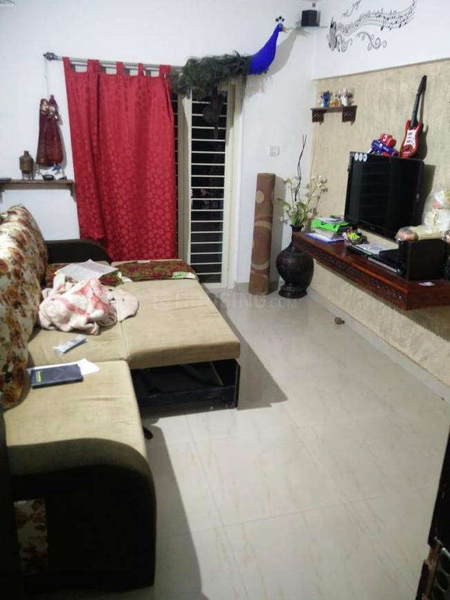 Living Room Image of 750 Sq.ft 1 BHK Apartment for rent in Narhe for 10000
