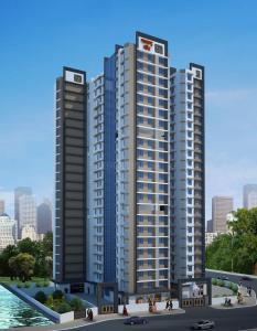 Gallery Cover Image of 545 Sq.ft 1 BHK Apartment for buy in Adhikari Maharashtra Mandir, Bhandup West for 6900000