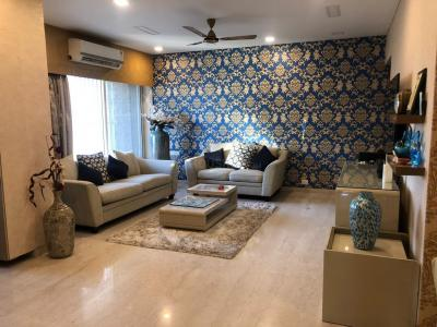 Gallery Cover Image of 1600 Sq.ft 3 BHK Apartment for rent in Rizvi Oak, Malad East for 65000