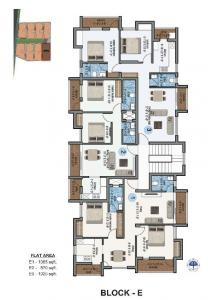 Gallery Cover Image of 871 Sq.ft 2 BHK Apartment for buy in Kolapakkam for 4383358
