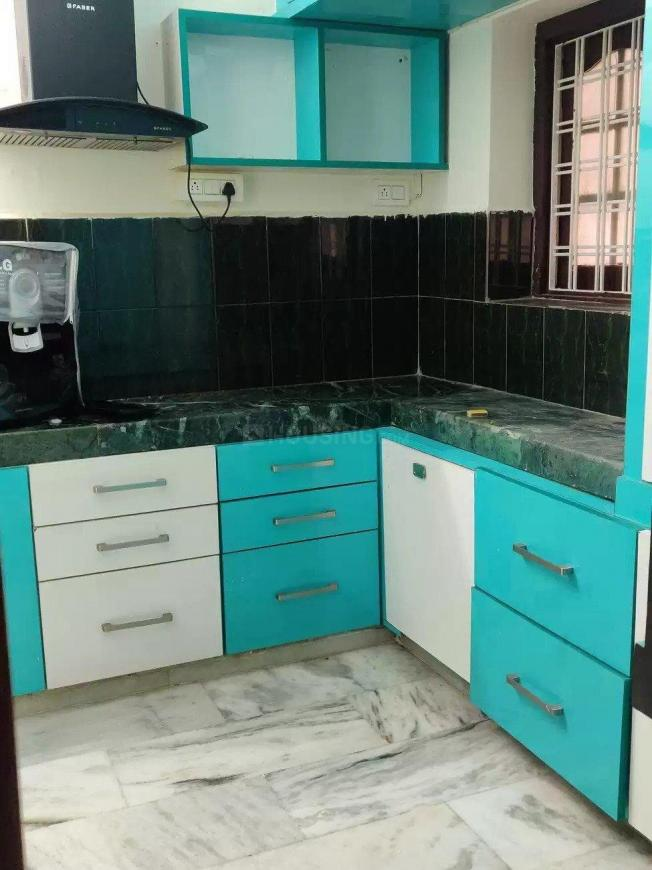 Kitchen Image of 1050 Sq.ft 2 BHK Apartment for rent in Karmanghat for 13000