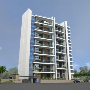 Gallery Cover Image of 705 Sq.ft 1 BHK Apartment for rent in Yash Kumkum Park, Ghansoli for 14000