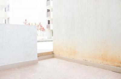 Balcony Image of Aakruthi Homes Flat No 002 in Mahadevapura