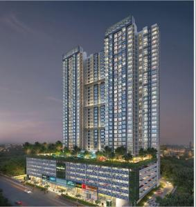 Gallery Cover Image of 1800 Sq.ft 3 BHK Apartment for buy in Wadhwa TW Gardens, Kandivali East for 33800000
