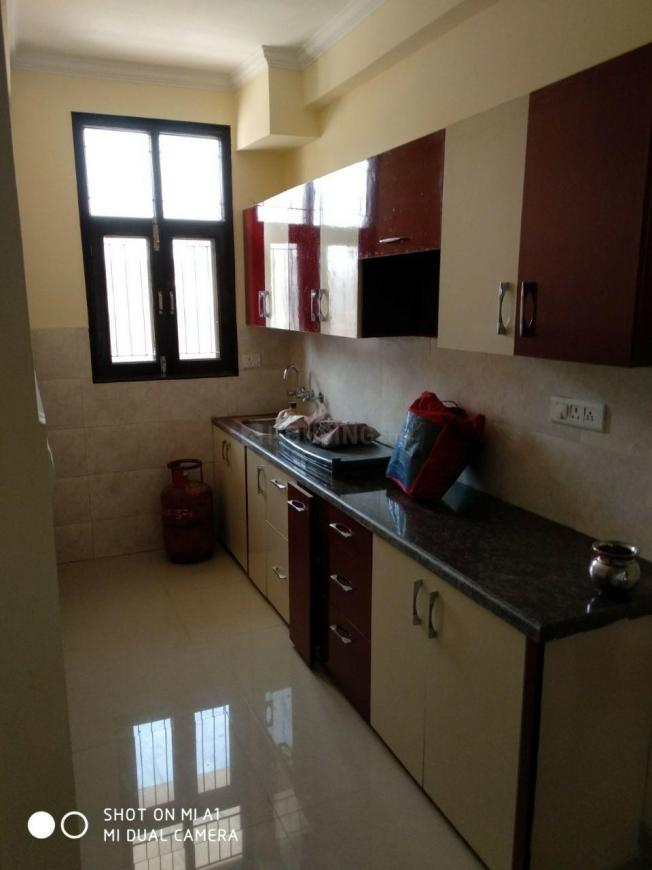 Kitchen Image of 900 Sq.ft 2 BHK Independent Floor for buy in Noida Extension for 2000000