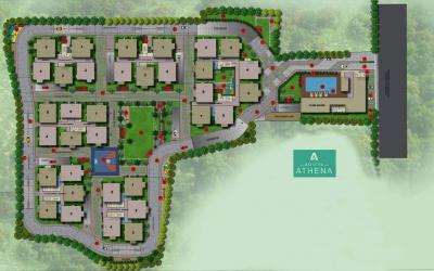 Gallery Cover Image of 2200 Sq.ft 3 BHK Apartment for buy in Shaikpet for 15700000