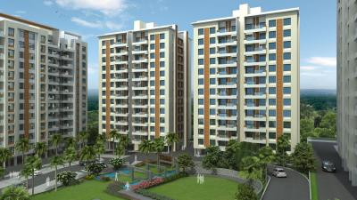 Gallery Cover Image of 1017 Sq.ft 2 BHK Apartment for buy in Sus for 5814207