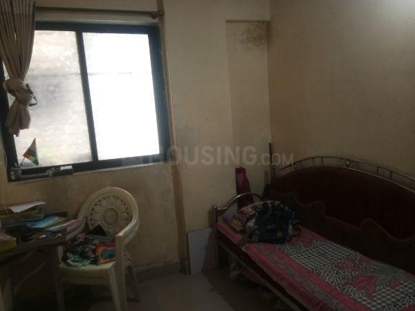 Living Room Image of 650 Sq.ft 1 BHK Apartment for rent in Airoli for 15500