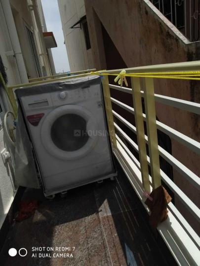 Drying Area Image of 1500 Sq.ft 2 BHK Apartment for rent in Murugeshpalya for 27000