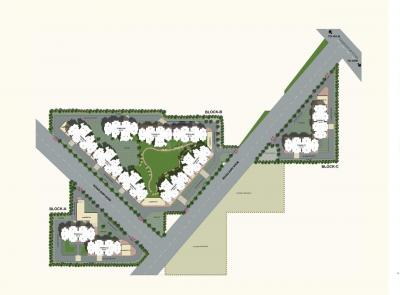 Gallery Cover Image of 1050 Sq.ft 2 BHK Apartment for buy in Suncity Avenue 76, Sector 76 for 2600000