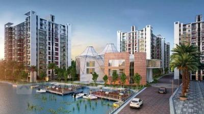 Gallery Cover Image of 1219 Sq.ft 3 BHK Apartment for buy in Siddha Water Front, Barrackpore for 4600000