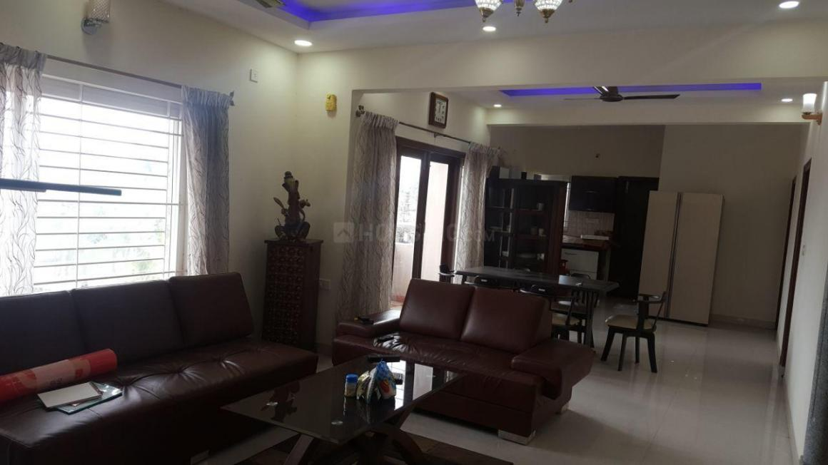 Living Room Image of 1600 Sq.ft 3 BHK Apartment for rent in Attiguppe for 40000