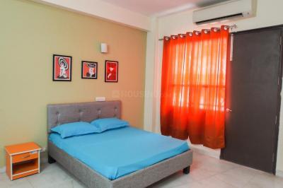 सुशांत लोक आई में पीजी फॉर मेल्स के बेडरूम की तस्वीर