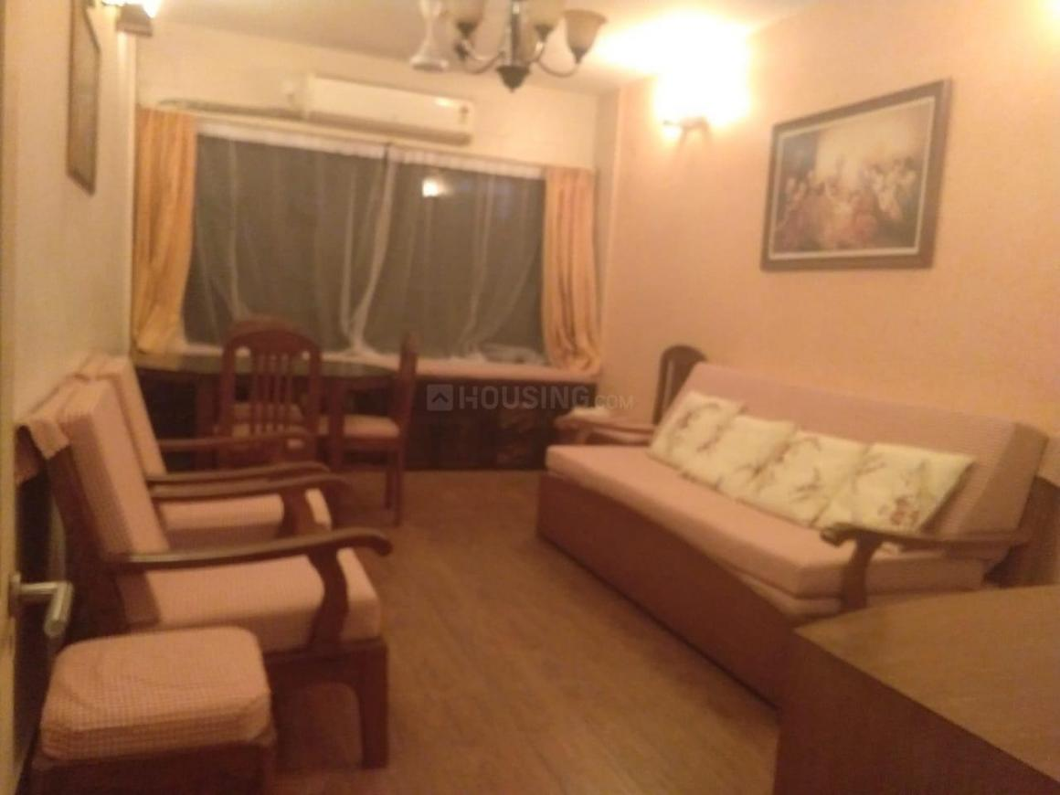 Living Room Image of 600 Sq.ft 1 BHK Apartment for rent in Bandra West for 60000
