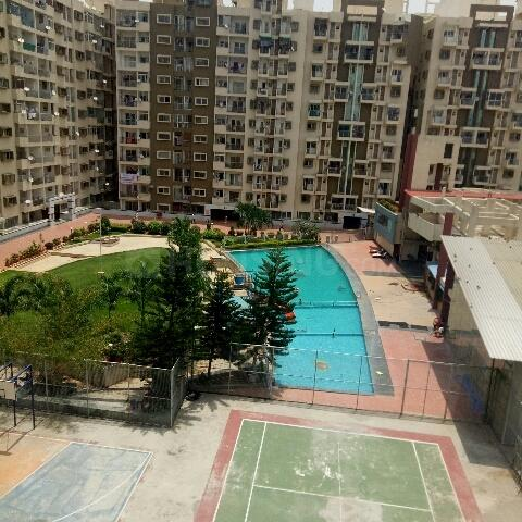 Bedroom Image of 622 Sq.ft 1 RK Apartment for rent in Marathahalli for 23000