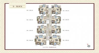 Gallery Cover Image of 2065 Sq.ft 3 BHK Apartment for buy in Shaikpet for 17500000