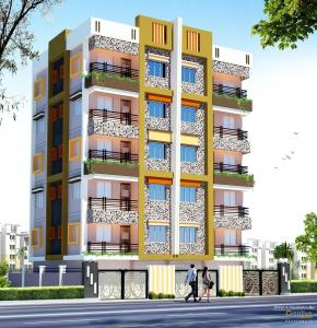 Gallery Cover Image of 786 Sq.ft 2 BHK Apartment for buy in Lake Town for 5344800