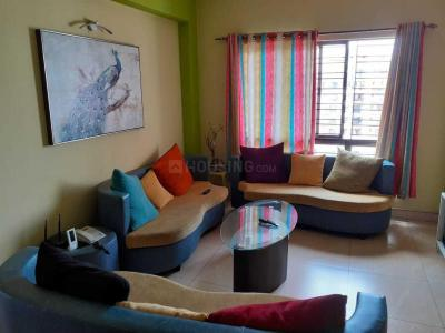 Gallery Cover Image of 1312 Sq.ft 3 BHK Apartment for rent in Diamond City West, Sarsuna for 22000