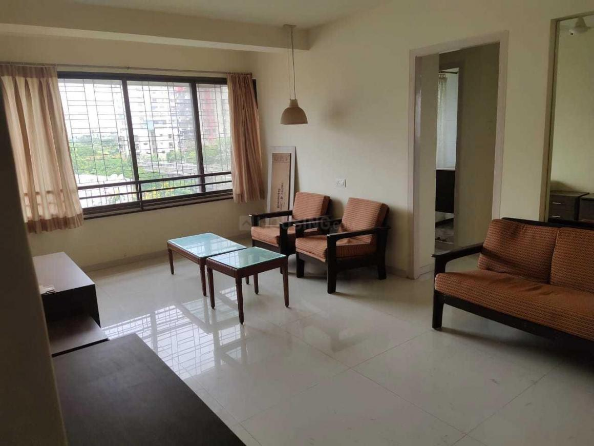 Living Room Image of 650 Sq.ft 1 BHK Apartment for rent in Andheri West for 50000
