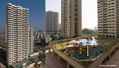 Gallery Cover Image of 1200 Sq.ft 2 BHK Apartment for rent in Paradise Sai Spring, Kharghar for 23000
