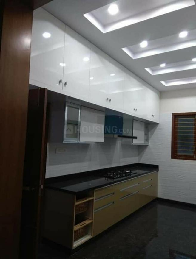 Kitchen Image of 1500 Sq.ft 3 BHK Independent House for buy in Budigere Cross for 6900000