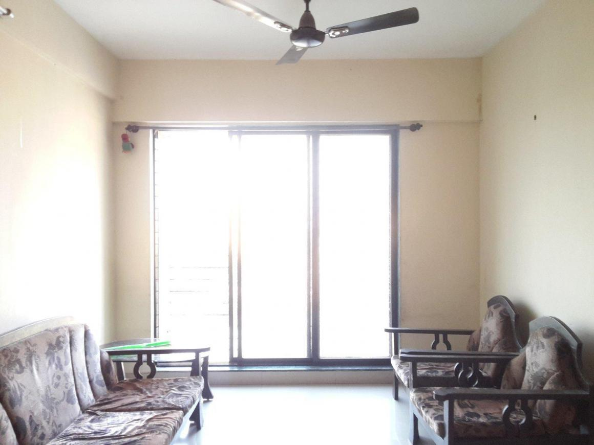 Living Room Image of 680 Sq.ft 1 BHK Apartment for buy in Kalwa for 6100000