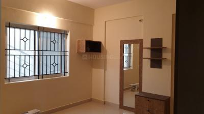 Bedroom Image of 1395 Sq.ft 3 BHK Apartment for rent in Vijetha Gardenia, Muneshwara Nagar for 30000