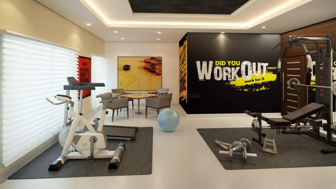 Gym Image of 1168 Sq.ft 3 BHK Independent House for buy in New Alipore for 9811000