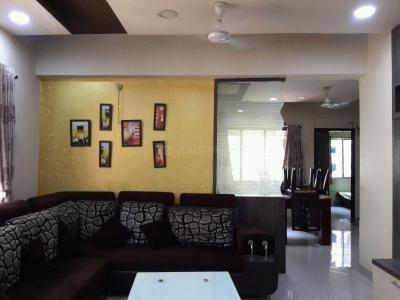 Gallery Cover Image of 1400 Sq.ft 3 BHK Apartment for rent in Kopar Khairane for 45000