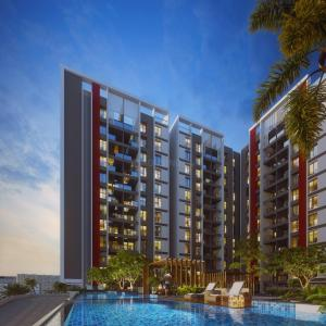 Gallery Cover Image of 1228 Sq.ft 3 BHK Apartment for buy in Thergaon for 7100000