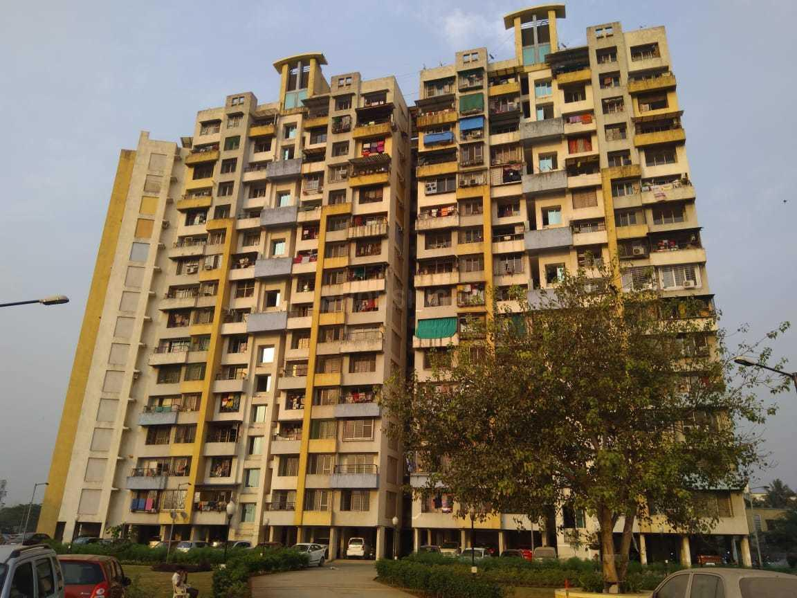 Building Image of 1250 Sq.ft 3 BHK Apartment for rent in Mhatre Nagar for 15000