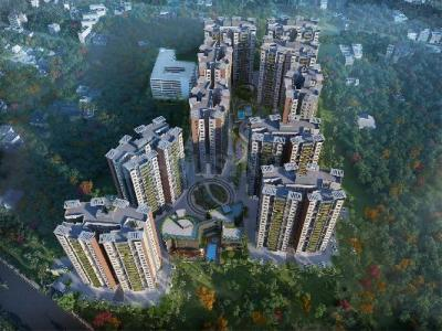 Gallery Cover Image of 1060 Sq.ft 2 BHK Apartment for rent in Reekjoyoni for 15000