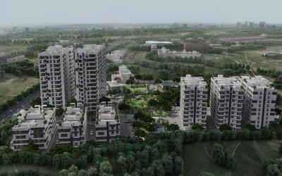 Gallery Cover Image of 898 Sq.ft 2 BHK Apartment for buy in DRA Pristine Pavilion 2, Mahindra World City for 4000000