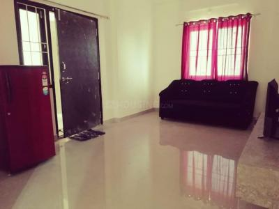 Gallery Cover Image of 630 Sq.ft 1 BHK Independent Floor for rent in Sanath Nagar for 8000