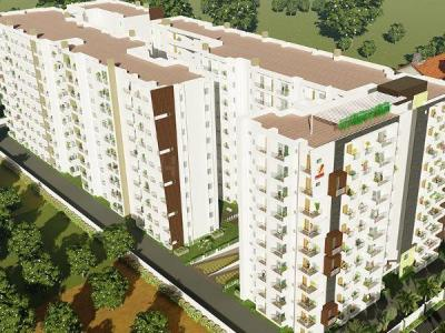 Gallery Cover Image of 1324 Sq.ft 2 BHK Apartment for buy in Hoysala Projects Jodidhars Enclave, Sahakara Nagar for 10600000