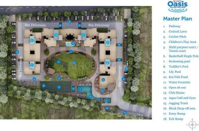 Gallery Cover Image of 1297 Sq.ft 3 BHK Apartment for buy in Arvind Oasis, Nagasandra for 6095900