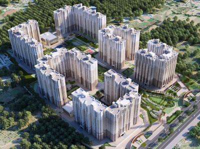 Gallery Cover Image of 971 Sq.ft 2 BHK Apartment for buy in Prestige Finsbury Park Hyde, Gummanahalli for 5052000