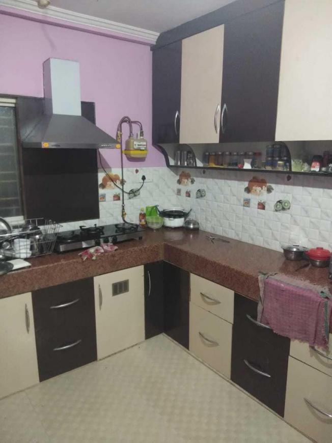 Kitchen Image of 1800 Sq.ft 3 BHK Independent Floor for buy in Gandhinagar for 5500000