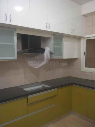 Kitchen Image of 3000 Sq.ft 3 BHK Apartment for rent in R.K. Hegde Nagar for 38000