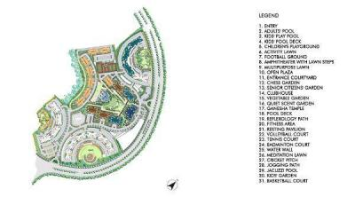 Gallery Cover Image of 1425 Sq.ft 3 BHK Apartment for buy in Lodha Upper Thane, Bhiwandi for 11500000