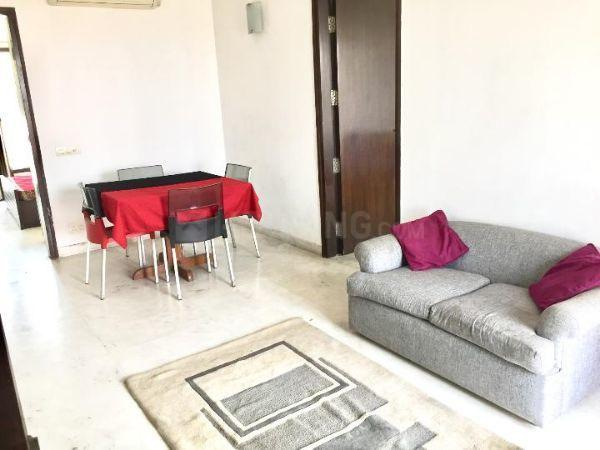 Living Room Image of 1000 Sq.ft 2 BHK Apartment for rent in Sector 54 for 21000