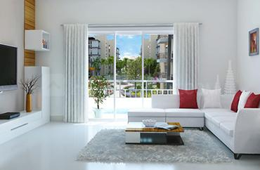 Gallery Cover Image of 1170 Sq.ft 3 BHK Apartment for buy in Godrej E-City, Electronic City for 7200000